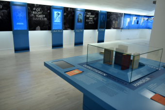 Neue Dauerausstellung in der DenkStätte Weiße Rose