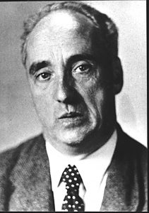 Porträt von Prof. Kurt Huber, Passbild, ca. 1940