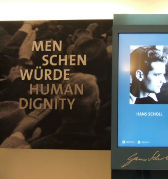 Veranstaltungen aus Anlass des 100. Geburtstages von Hans Scholl in München, Ulm und Crailsheim