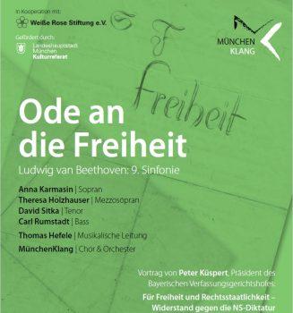 Vortrag und Konzert: Ode an die Freiheit