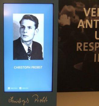 100. Geburtstag von Christoph Probst