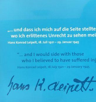 Hans Konrad Leipelt: Todesurteil vor 75 Jahren