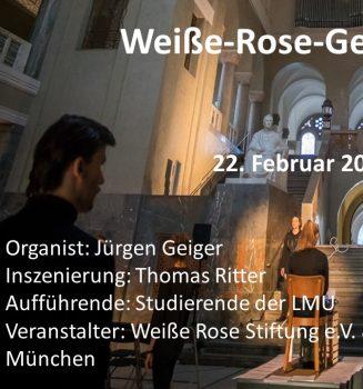 Weiße Rose Orgelkonzert – live online