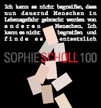 100. Geburtstag von Sophie Scholl: Theatrale Demonstration auf dem Königsplatz München
