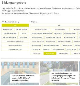 """Neue Plattform """"Forum Erinnern"""""""